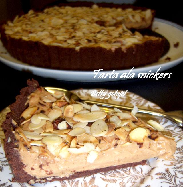 tarta ala snickers 2