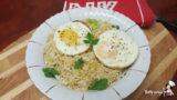 Ryż z porem i imbirem
