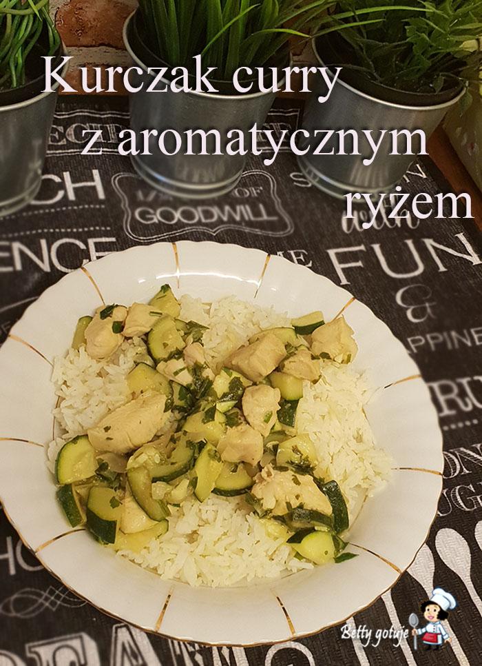 Kurczak curry z aromatycznym ryżem