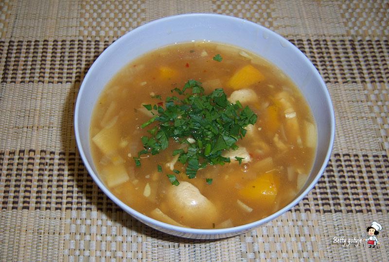 zupa słodko kwaśna