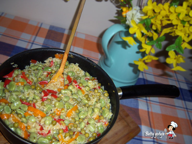 paella z warzywami
