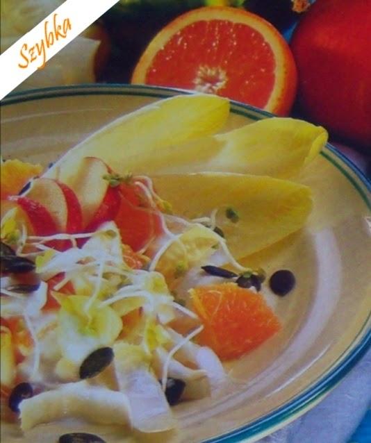 Sałatkazpomarańczyicykorii1