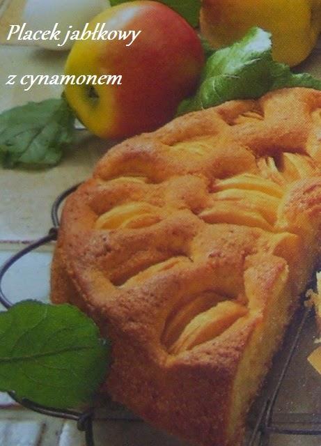 placek jabłkowy z cynamonem
