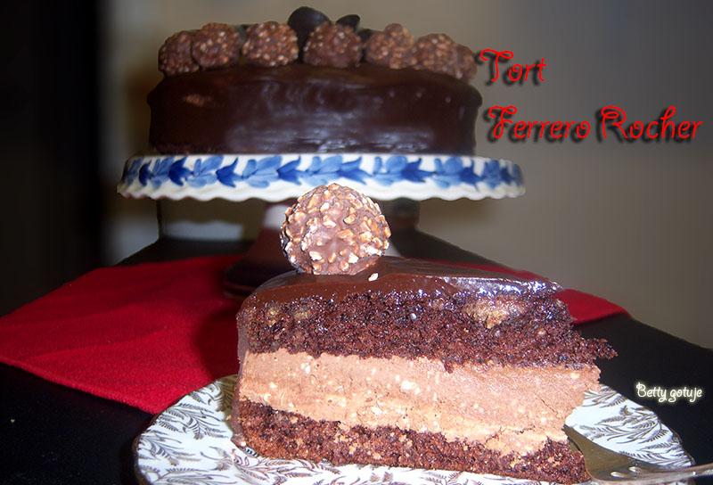 Tort Ferrero Rocher 8