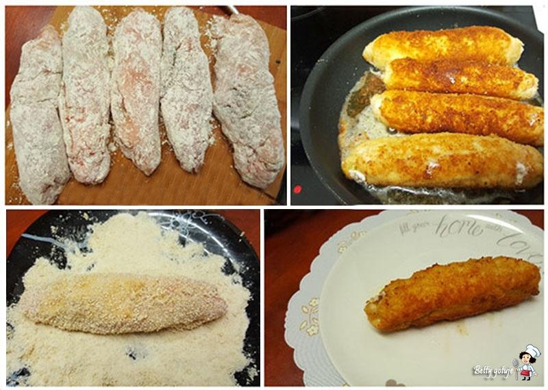Dewolaje z masłem i pietruszką