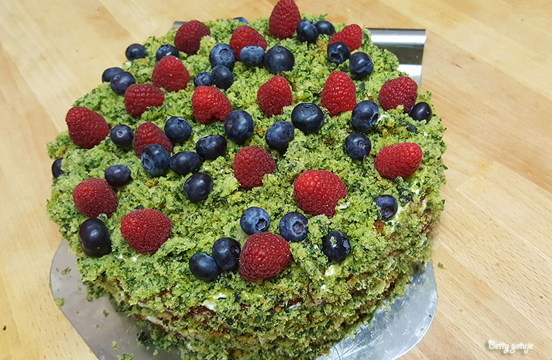Ciasto leśny mech 1