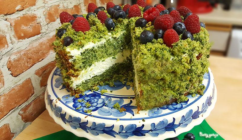 Ciasto leśny mech 4