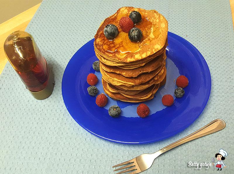 Bezglutenowe pancakes